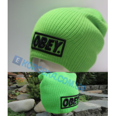 Шапка Obey green