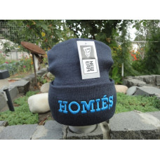 Шапка Homies black/blu