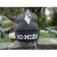 Шапка Homies black/grey