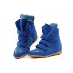 Сникерсы Isabel Marant  синие