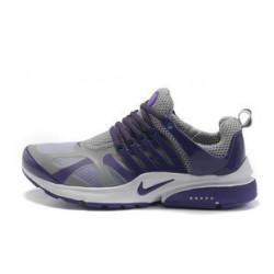 Nike Presto серые с фиолетовым
