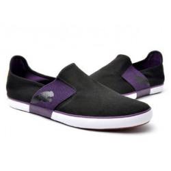 Мокасины puma черный с фиолетовым
