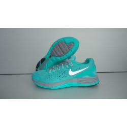Nike LUNARGLIDE +4 бирюза/зеленые
