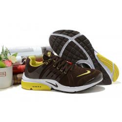 Nike Presto весна/осень шоколад/лимон