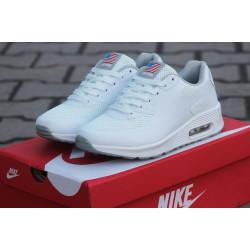 Nike AIR MAX 90 Hyperfuse PRM белые сетка