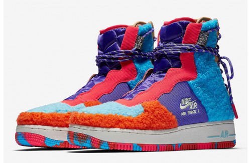 Блог Nike Air Force 1 Rebel XX Rugs Up