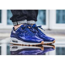 Nike Air Max 90 VT QS (831114 400) голубые с белым