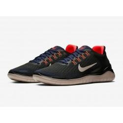 Nike Free RN 2018 'Blacken Blue Crimson'