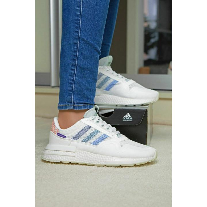 Кроссовки Adidas ZX 500 RM white