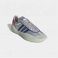 Кроссовки Adidas Country Kamanda Silver Metallic/Power Blue/Red- EF5546