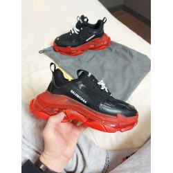 Balenciaga Triple S Black Red