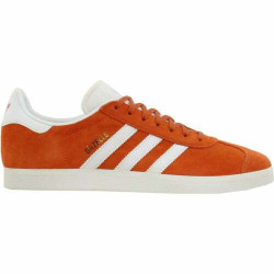 Adidas Gazelle Lace Up Mens Sneakers Shoes Casual - Orange