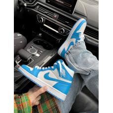 Air Jordan 1 Retro High White Blue