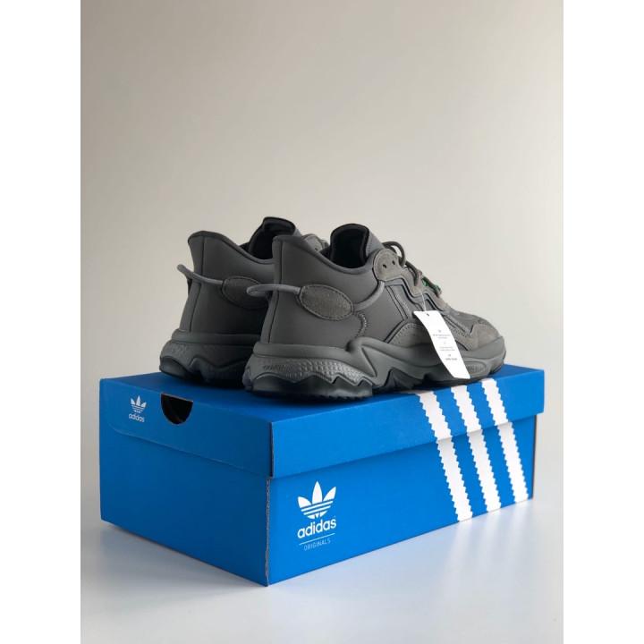 Кроссовки Adidas Ozweego, сірі
