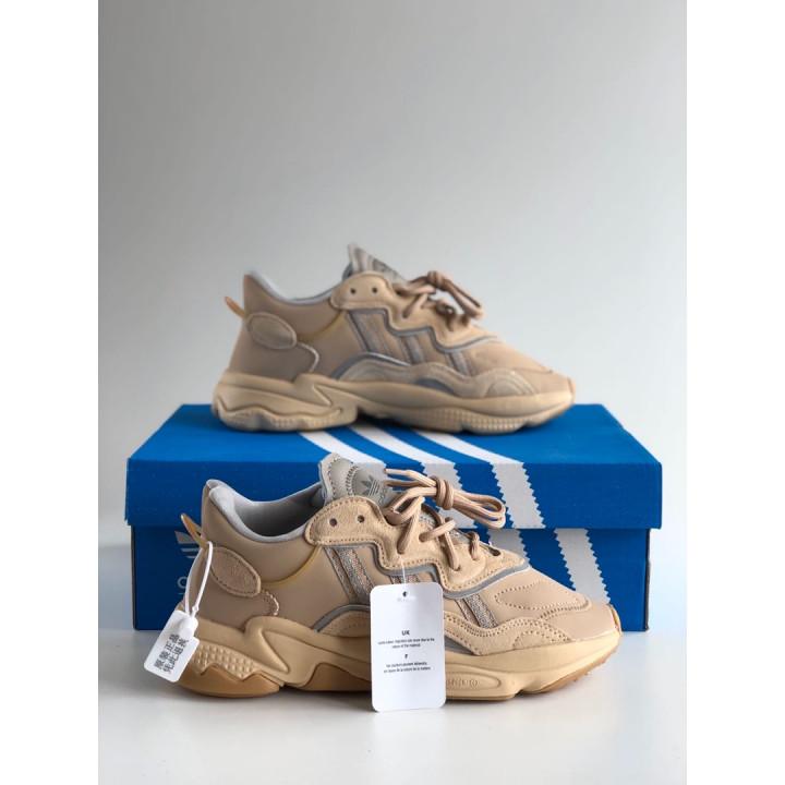 Кроссовки Adidas Ozweego, бежеві