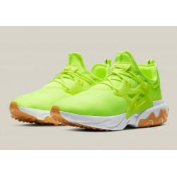 Nike React Presto Volt Gum White