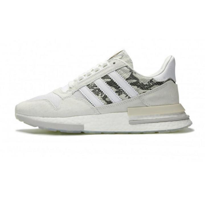 Кроссовки Adidas ZX 500 RM white grey