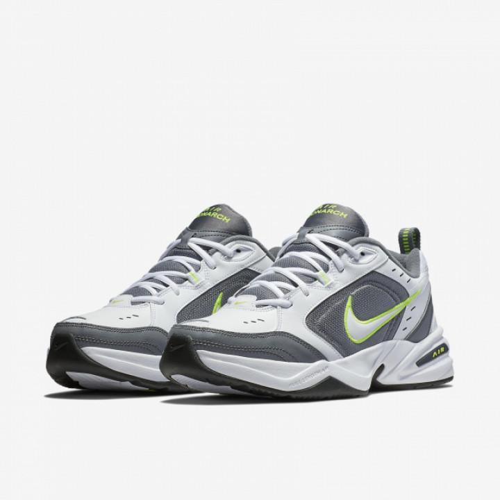 Кросівки Nike Air Monarch IV білі з сірим і зеленим
