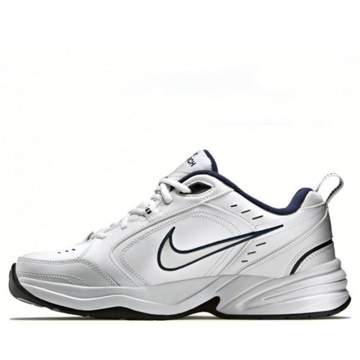 Кросівки Nike Air Monarch IV білі з чірим