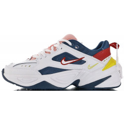"Nike M2K Tekno ""Blue Force Summit White Chrome Yellow"""