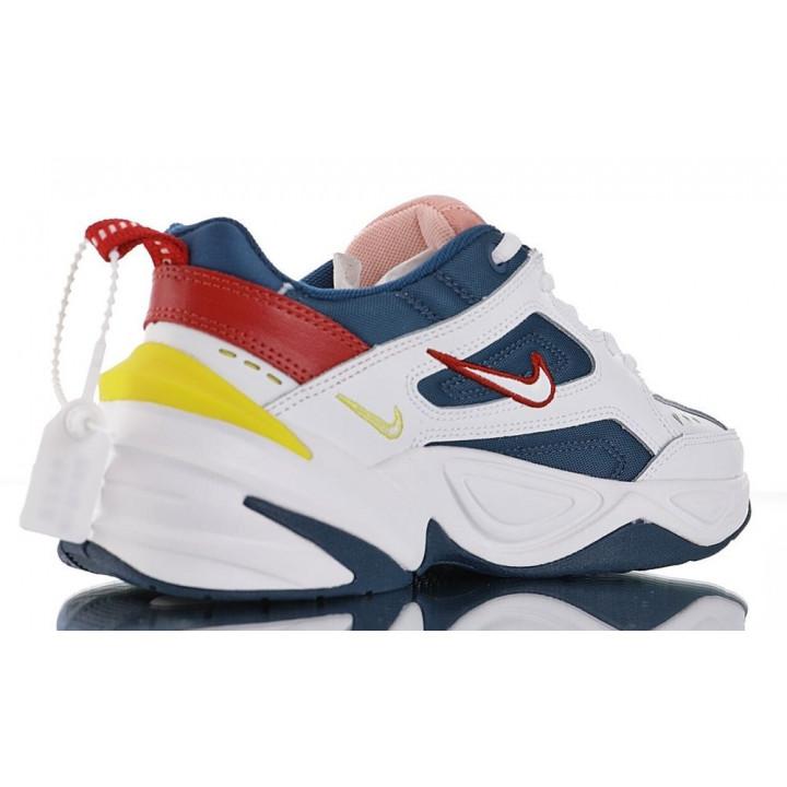 Кросівки Nike M2K Tekno білі з темносинім