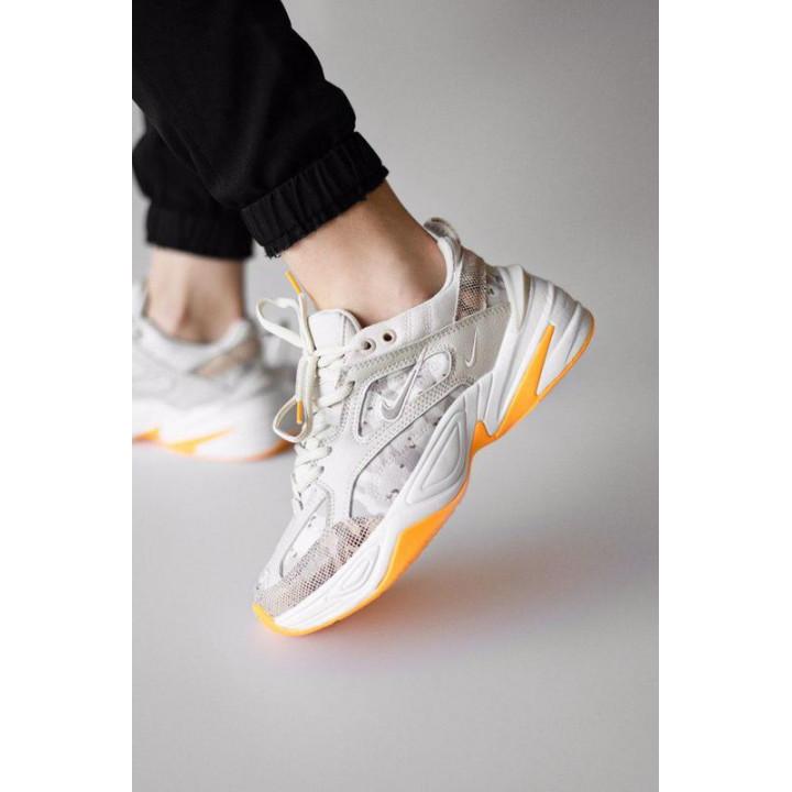 Кросівки Nike M2K Tekno з бежевим