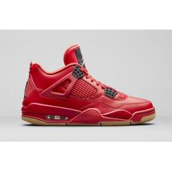 Кроссовки Air Jordan 4 Red/Gum Realese Date