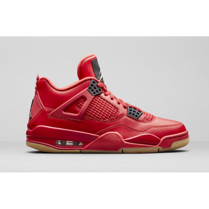 Кроссовки Air,  Jordan 4 червоні