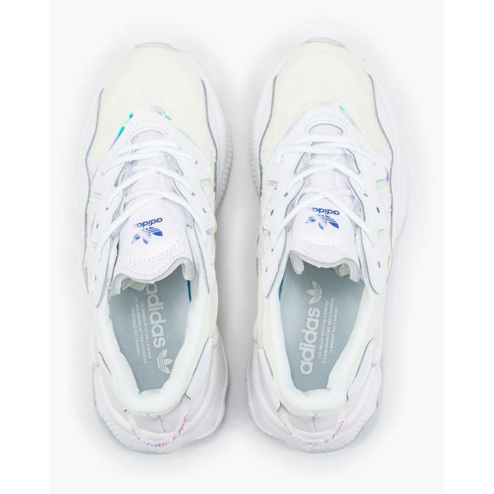Кроссовки Adidas Ozweego, білі сітка в наявності