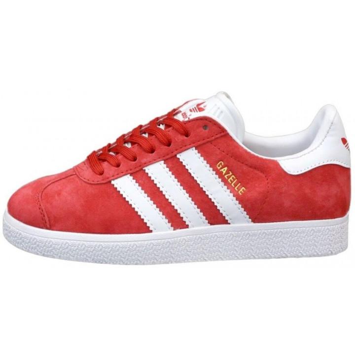 Кроссовки Adidas Gazelle, червоні в наявності