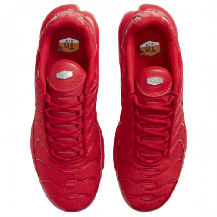 Кроссовки Nike Air Max Plus червоні під замовлення