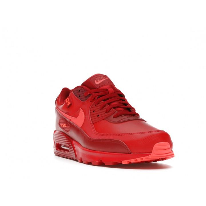 Кроссовки Nike Air Max 90 DH0146-600 червоні під замовлення
