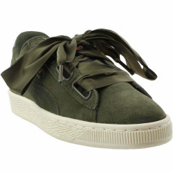 Puma Suede Heart Velvet Rope Green