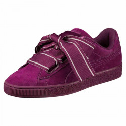 Puma Suede Heart Satin Dark Purple