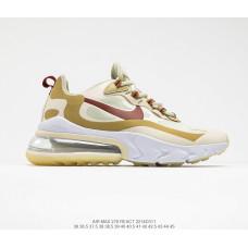 Nike React Air Max 270 White Gold