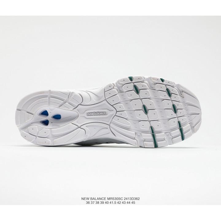 Кроссовки New Balance 530 білі з червоним