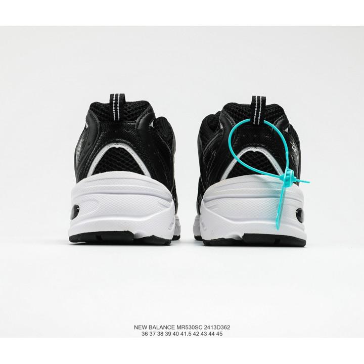 Кроссовки New Balance 530 білі з чорним
