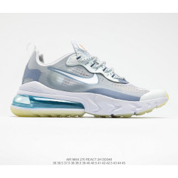 Nike React Air Max 270 White Biruza