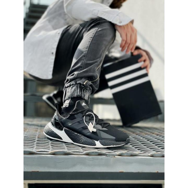 Кроссовки Adidas X9000L4, білі з чорним в наявності