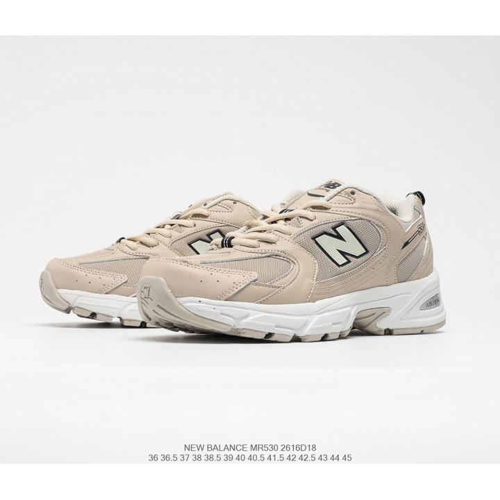 Кроссовки New Balance 530 білі з бежевим