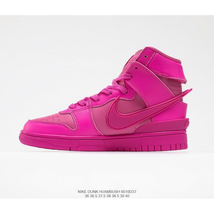Кросівки AMBUSH x Nike SB Dunk High рожеві