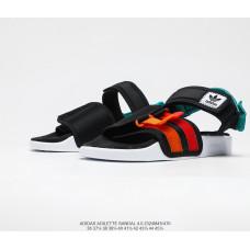 Сандалии Adidas Adilette Sandal 2021 black/white/orange