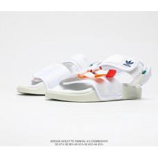 Сандалии Adidas Adilette Sandal 2021 all white red