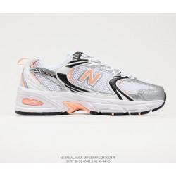 New Balance 530 White Grey Orange