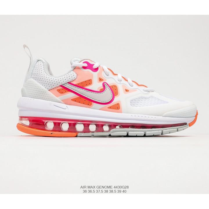 Кросівки Nike Air Max Genome 2021 рожеві з білим жіночі