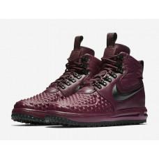 Nike Lunar Force 1 Duckboot 17 Bordeaux Black Boots