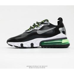 Nike Air Max 270 React black green