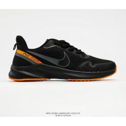 Nike LUNARGLIDE +4 black orange