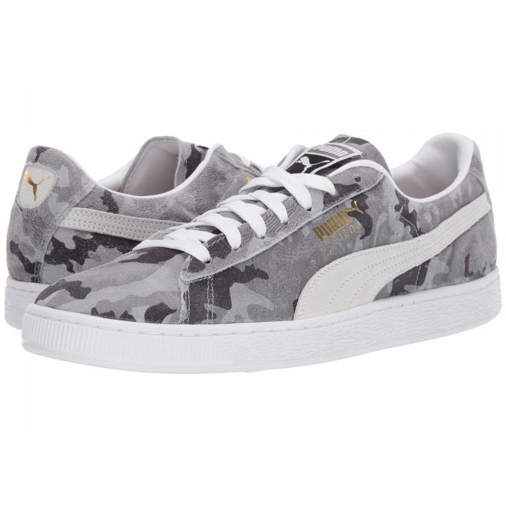 Кроссовки Puma Suede Classic, серый пиксель