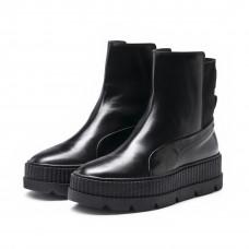 PUMA Women's Fenty x Chelsea Sneaker Boots black